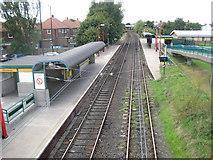 NZ3171 : Shiremoor Metro station, Tyne & Wear by Nigel Thompson