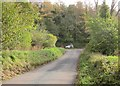 SX8462 : Lane below Afton by Derek Harper