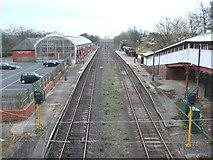 NZ3472 : Monkseaton Metro station, Tyne & Wear by Nigel Thompson