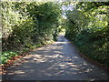 SW9643 : Country Lane, Tubbs Mill by JThomas