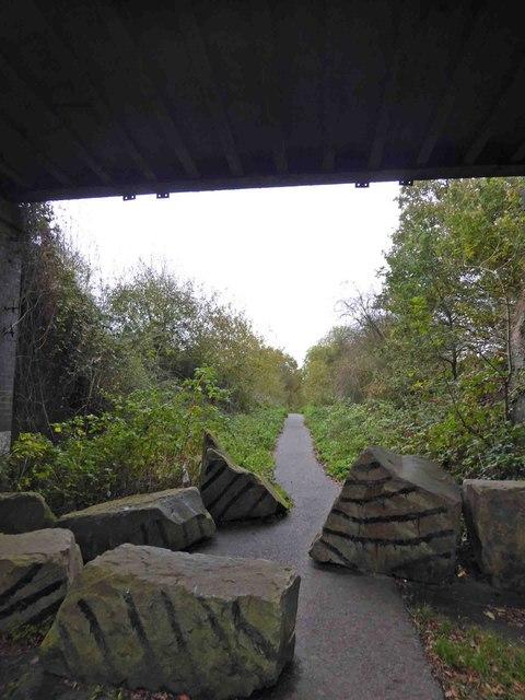 NCN 674 near Thurcroft