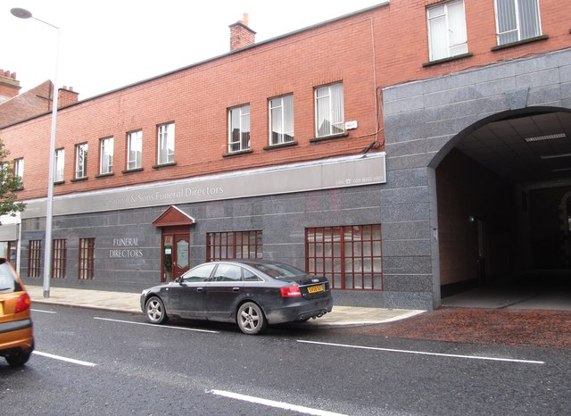 James Bown and Sons, Funeral Directors, Newtownards Road