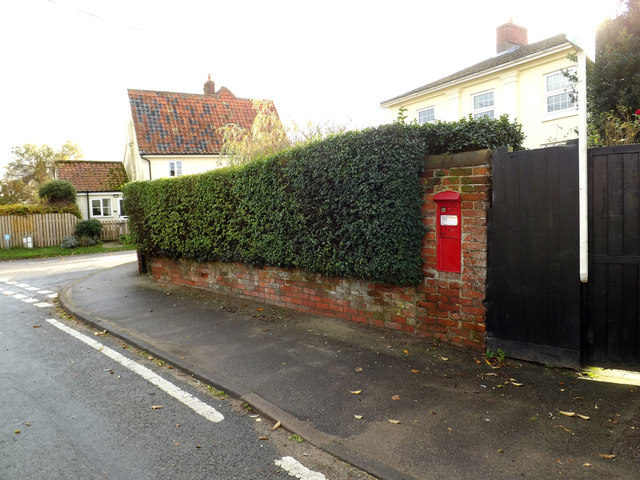Lower Oakley Victorian Postbox