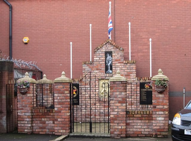 Red Hand Commando Memorial, Newtownards Road