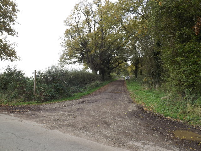 Restricted Byway to Norgate Lane