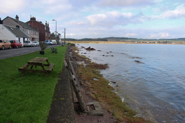 The seafront at Kilchattan Bay, Island of Bute