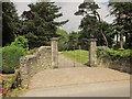 ST9422 : Entrance to The Priory, Berwick St John by Derek Harper