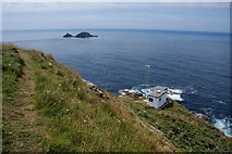 SW3531 : Cape Cornwall by Bill Boaden