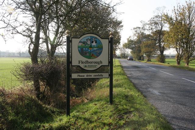 Approaching Fledborough