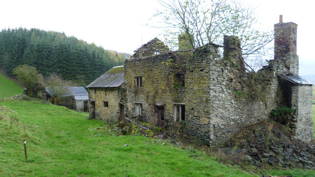 Ty-gywn, the most beautiful ruin