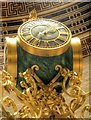 SJ8397 : Ornate Clock, Manchester Central Library Reading Room by David Dixon