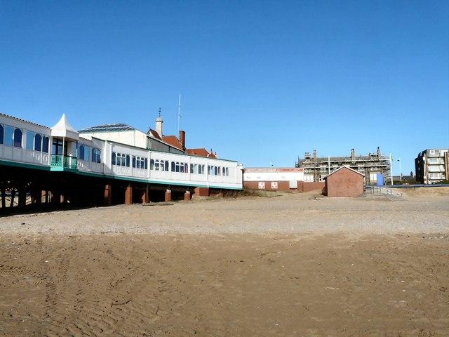 St Anne's beach looking landwards
