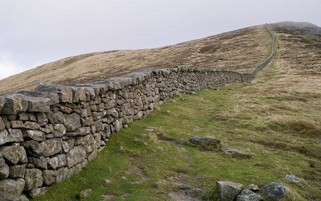 The Mourne Wall near Lough Shannagh