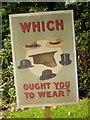 SJ7387 : Which Hat? by David Dixon