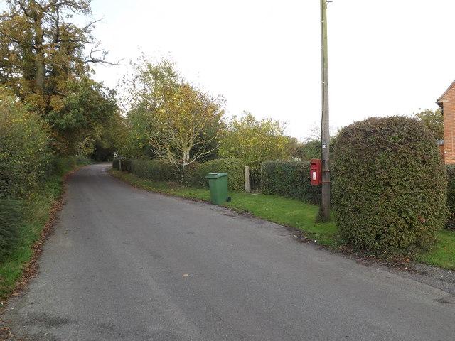 Church Road & Church Lane Postbox