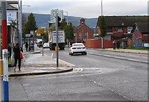 J3574 : View west along Lower Newtownards Road by Eric Jones