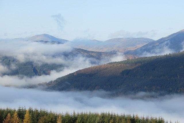 A view into Glen Lyon