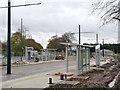 SK5337 : University Boulevard tram stop by Alan Murray-Rust