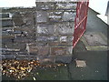 SN5979 : Ordnance Survey Benchmark - Aberystwyth, Southgate by N Scott