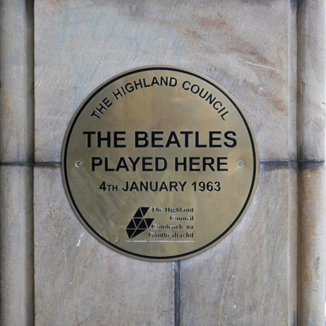 Photo of The Beatles bronze plaque