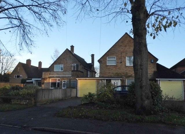 Houses on Pancake Lane, Leverstock Green