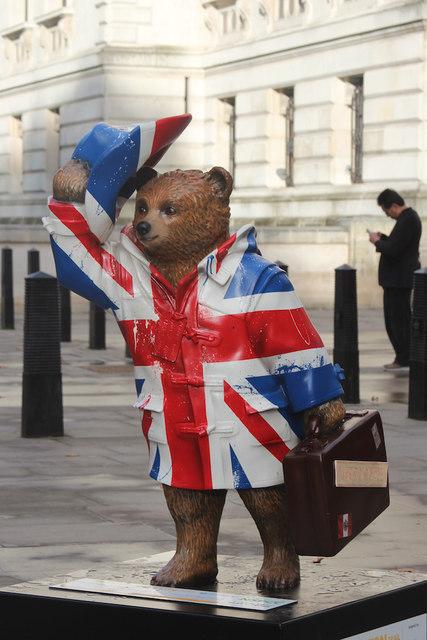 Paddington Bear, Horse Guards Parade