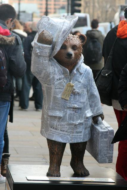"""""""Good News Bear"""", Horse Guards Parade"""