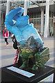 "TQ3280 : ""Wonders of the World"" Paddington Bear, London Bridge Station by Oast House Archive"