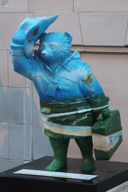 """Bearodiversity"" Paddington Bear, Glass House Street"