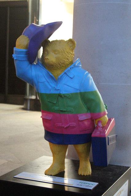 """Rainbow"" Paddington Bear, Royal Opera House"