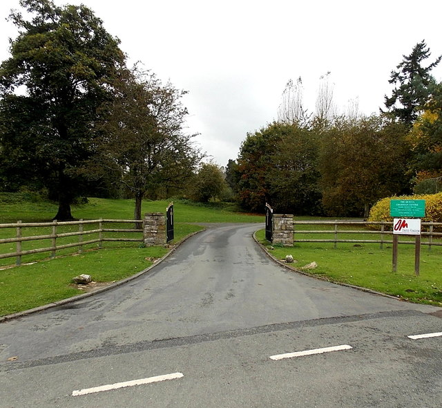 Entrance to the Quinta Christian Centre, Weston Rhyn