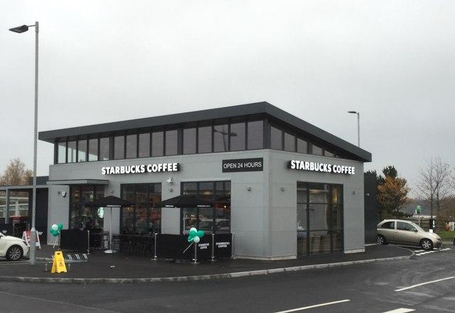 Wolstanton: 24-hour drive-thru Starbucks