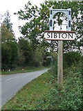 TM3669 : Sibton Village Sign by Keith Evans