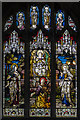 TQ7736 : Stained glass window, St Dunstan's church, Cranbrook by Julian P Guffogg