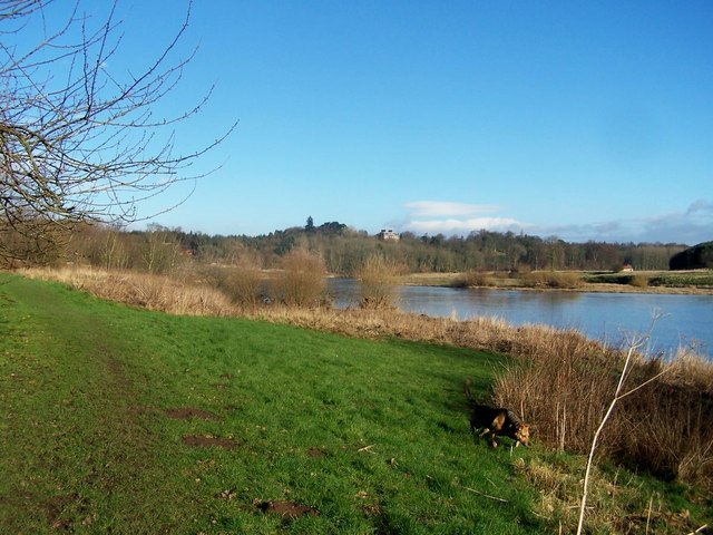 River Tweed and Paxton House
