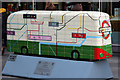 TQ2979 : Bus Art, 'Tunnel Vision' by Oast House Archive