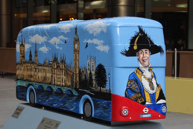 Bus Art, 'Lord Mayor of the City of Westminster'