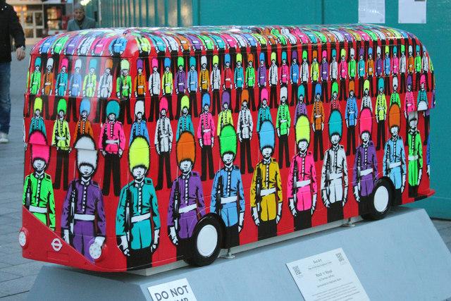 Bus Art, 'Rock N Royal'