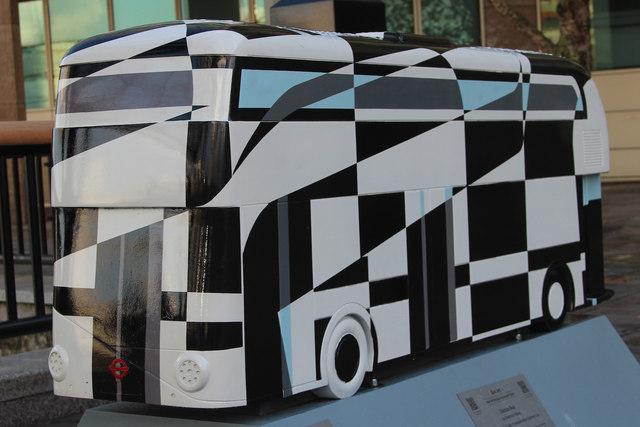 Bus Art, 'Dazzle Bus'