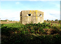 TM1782 : Pillbox off Harvey Lane by Adrian Cable