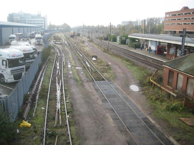 Welwyn Garden City: Railway sidings (1)