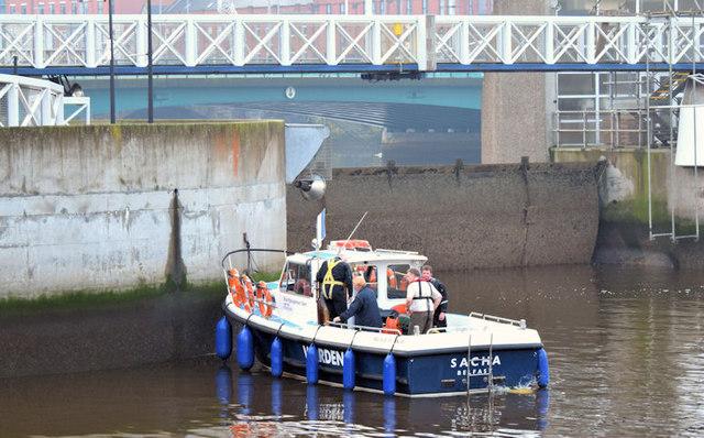 "The ""Sacha"", River Lagan, Belfast (November 2014)"
