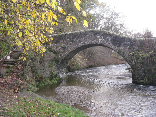 The Leithen Water and Cuddy Bridge