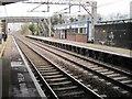 SJ6766 : Winsford railway station, Cheshire by Nigel Thompson