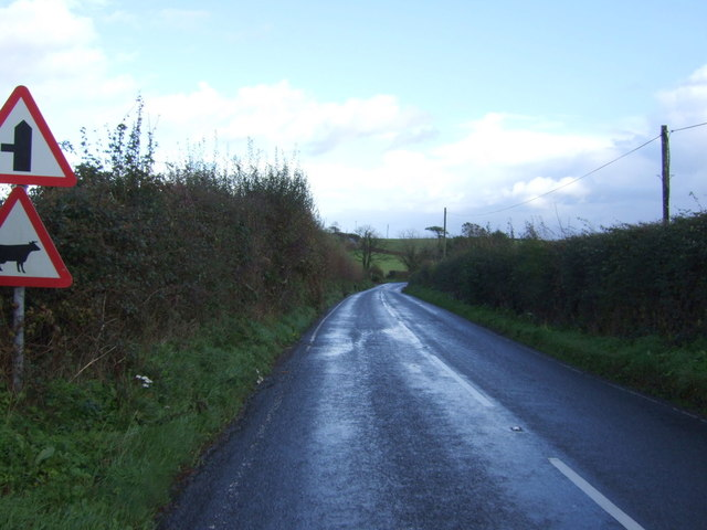 A387 heading north east