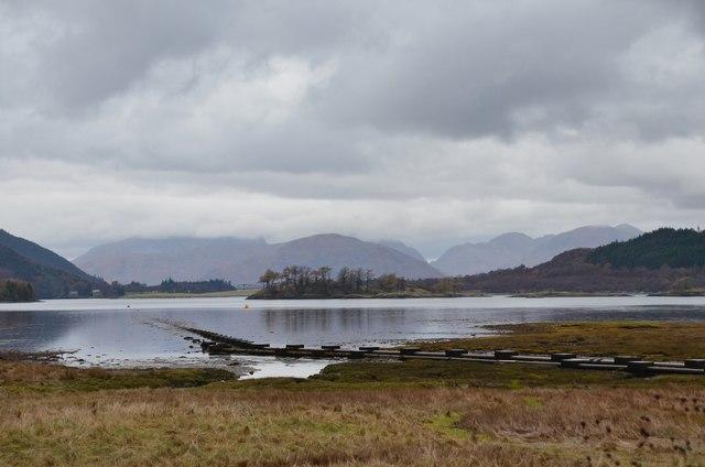 Loch Leven shore from Glencoe village