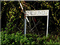 TM1681 : New Road sign by Adrian Cable