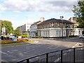 SU8650 : Roundabout in High Street, Aldershot by David960