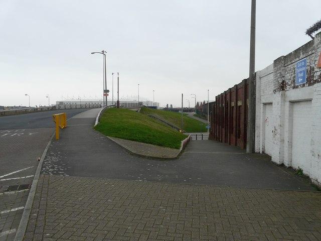 Seasiders Way over Rigby Road