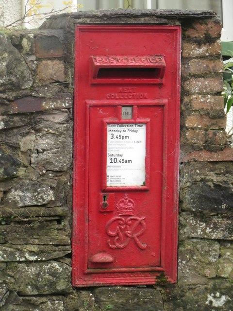 Post box, Greysouthen